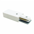 Коннектор шинопровода прямой SC-1W-TL белый серии TOP-LINE