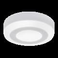 Панель светодиодная круглая накладная NRLP-BL 6Вт 4000К 350Лм 105мм с подсветкой белая