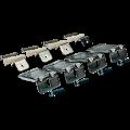 Комплект подвесов LP-КПП-Д ДЛИННЫЙ для панели светодиодной